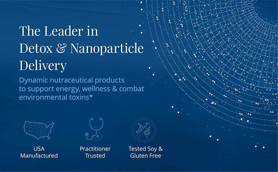 The Leader in Detox & Nanoparticle Delivery
