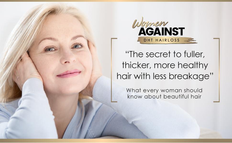 women against DHT hair loss