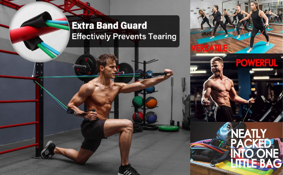 Exercise & Workout Resistance Bands