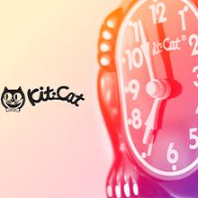 kit cat klock wall hanging pendulim clock clocks