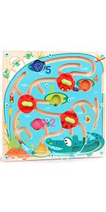 Jouet Labyrinthes Magnétiques pour Enfant 2 Ans