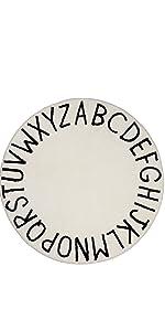 alphabet ABC area rug