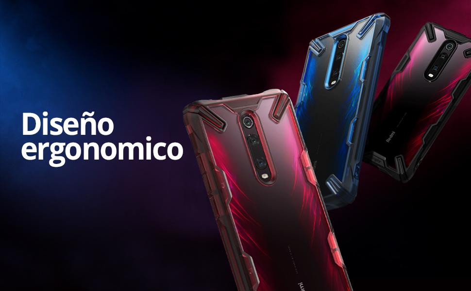 Ringke Fusion-X Diseñado para Funda Xiaomi Redmi K20, Redmi K20 Pro, Mi 9T Protección