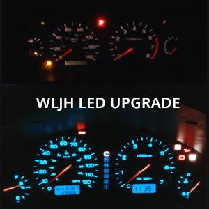 DEL SOL OEM INSTRUMENT GAUGE CLUSTER SRS LIGHT INDICATOR assembly panel control