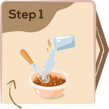 Step1 to Prepare health mix