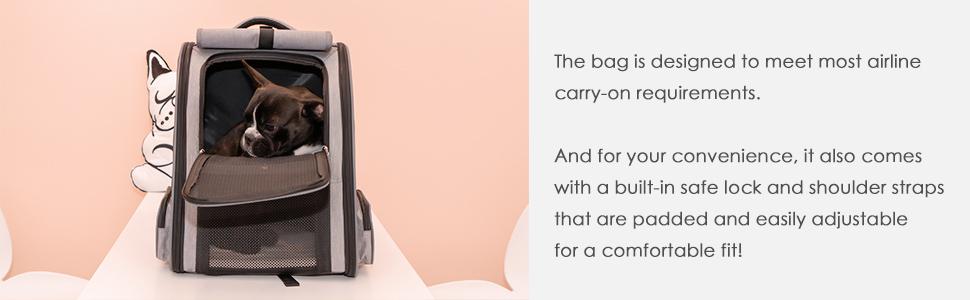 cat carrier pet carrier dog carrier portable dog backpack cat backpack Airline Approved Cat Bag