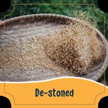 De-stoning - Millets