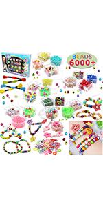 Beads Set 6000 Pieces