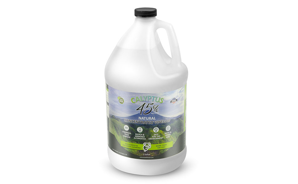 calyptus 100% pure natural corn based usa grown 45 30 percent acetic acid vinegar cleaner cleaning