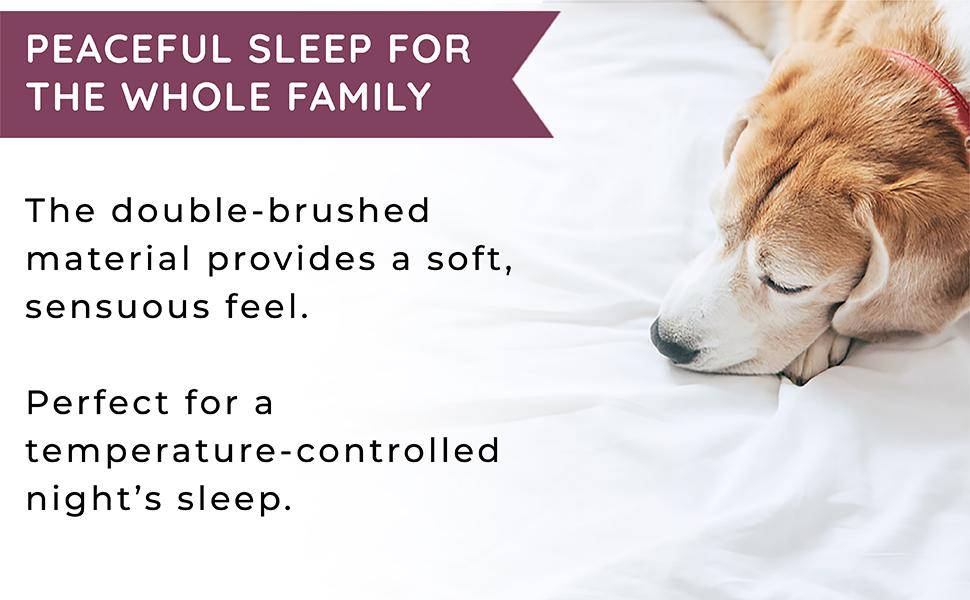 peaceful sleep for the whole family