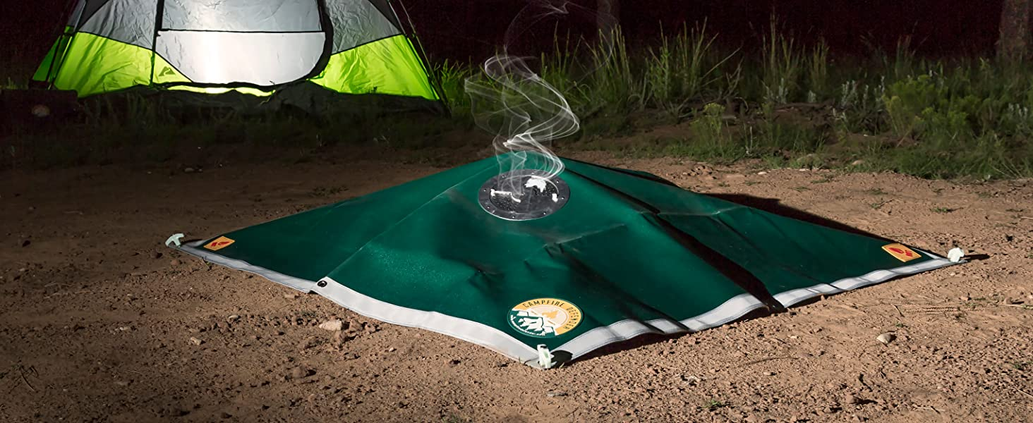 Fire Blanket, Campfire Cover, Emergency Fire Blanket, Fire Control