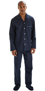 mens pyjama pj set top and bottom complete nightwear loungewear sleep
