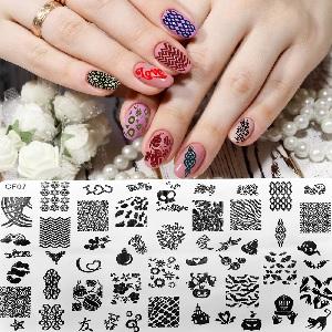 nail art plates