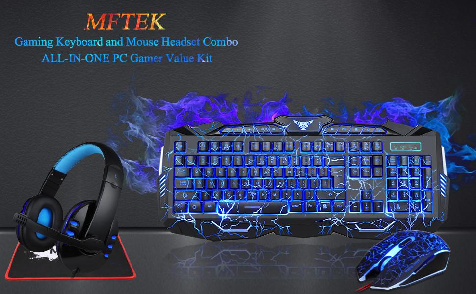 keyboard mouse headset