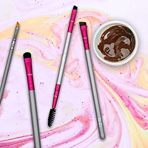 dark light eyeshadow synthetic shadow eyebrush real cut brushs smudgetr eyshadow deluxe bleding