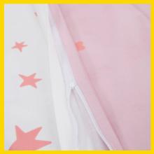 Bettw/äsche-Set f/ür M/ädchen mit Bettdeckenbezug und Kopfkissenbezug Rosa Eulen 90 x 120 cm