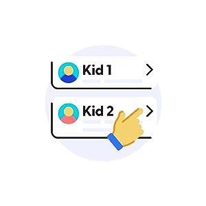 manage child profile