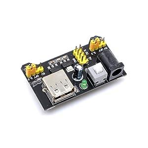 VistorHies 65 Flexible jumper wires+140pcs jumper wire box 3.3V//5V Breadboard power module+MB-102 830 points Bread board kit