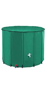 large rain barrel