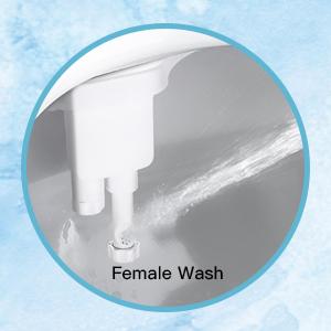 Ducha-Bid/é de WC Mec/ánico Bid/é con Boquilla de Autolimpieza Inodoro para Bid/é con Chorro de Agua para Higiene /Íntima de Hombre Mujer Ni/ños Ancianos