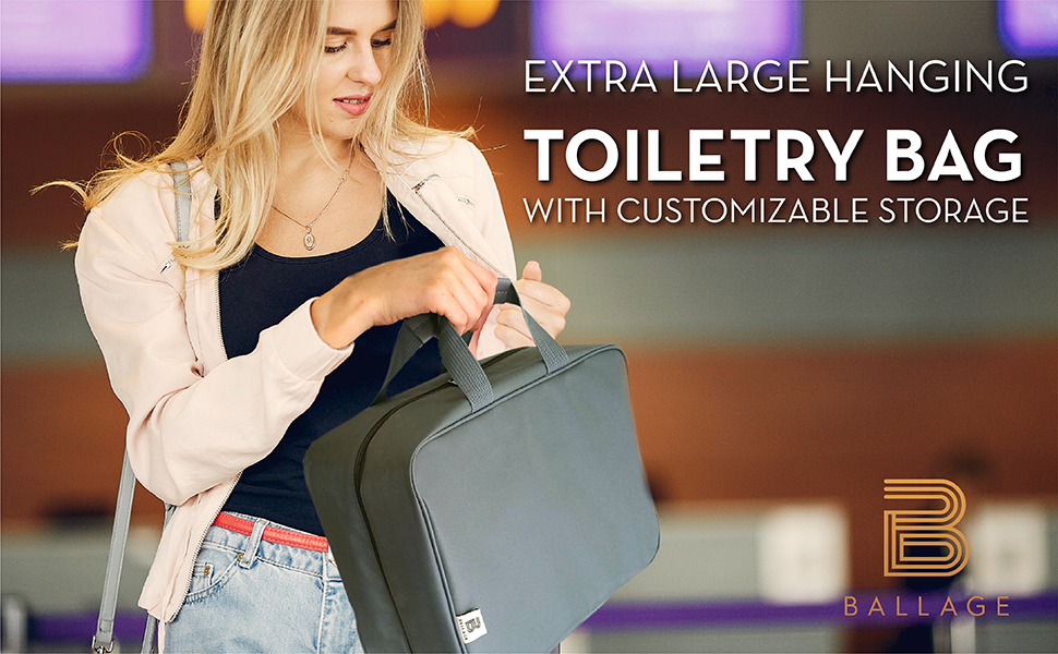 Extra Large Toiletry bag
