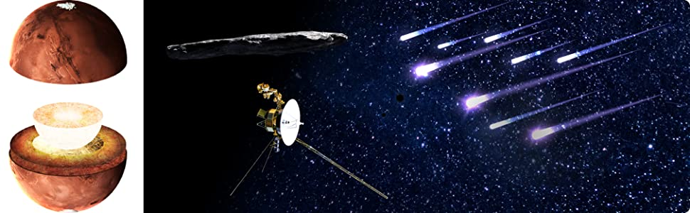 meteor showers oumuamua voyager 1 2 falling shooting stars first interstellar object spaceprobes