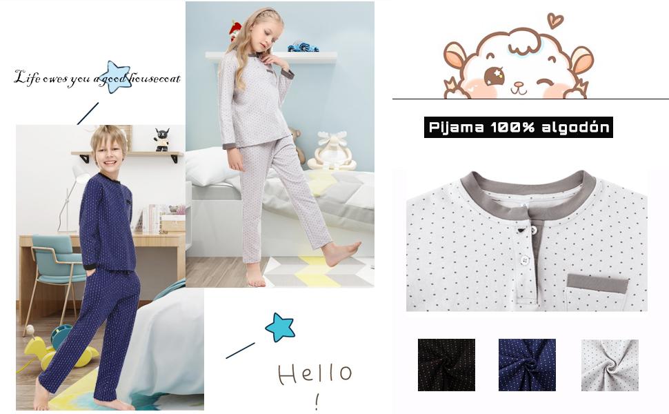 pijama niña invierno