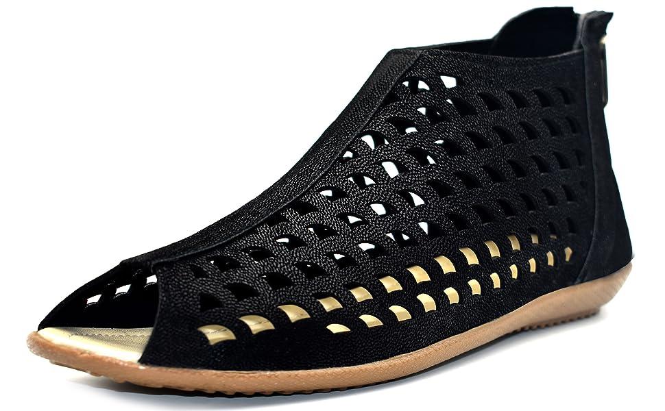 Women Flats,Flat Sandal for Women,Women Sandal,sandal for women,Women stylish black sandal