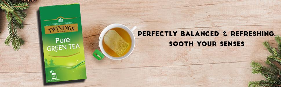 Twinings Pure Green Tea, 25 Teabags