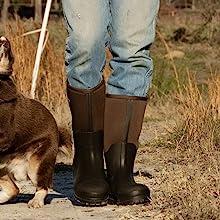hisea mud boots