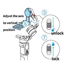 Unlock the Tilt Axis Lock.