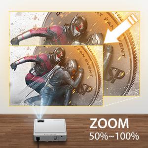zoom projector