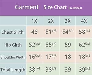 Garment Size Chart