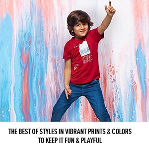 Cheerful prints