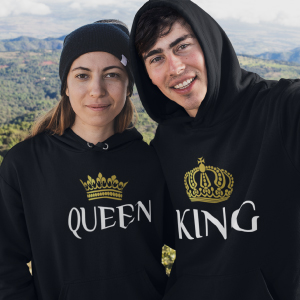 queen and king shirts for couples