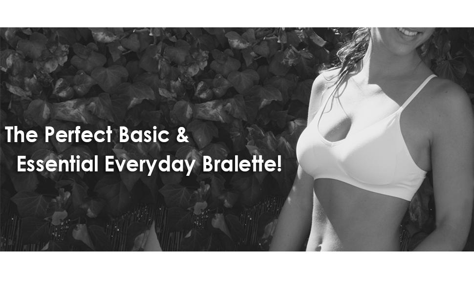 bralette v shape comfort bra comfy sexy womens basic everyday tshirt white black nude