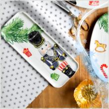 vietri nutcrackers nutcracker christmas serveware platter tray holiday mug serving dinnerware plate