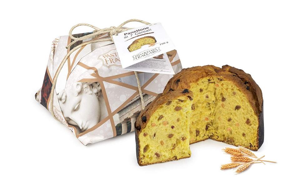 Panettone artesanal suave gusto 7 cereales FRACCARO SPUMADORO ...