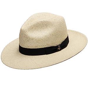 fedora packable floppy brim hat hats panama straw grosgrain brim shade pinch crown dent classy