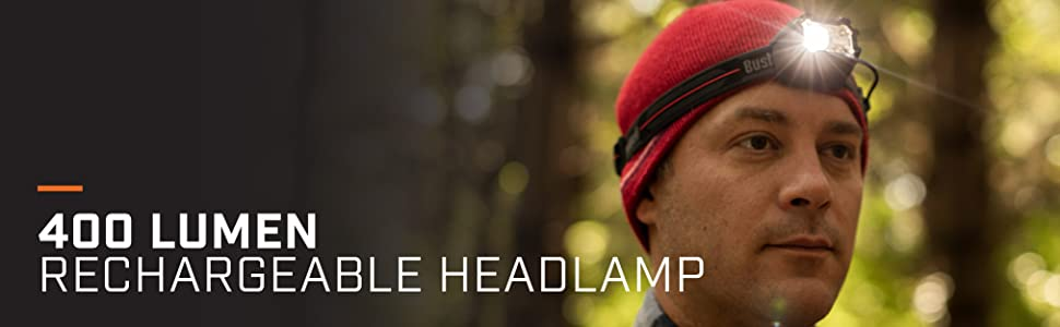 400 lumen rechargeable bushnell headlamp bright emergency headlamp headlight durable bushnell light
