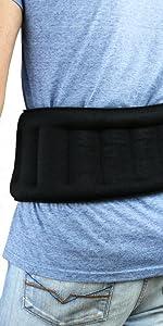huggaroo back wrap microwavable heat pad