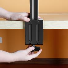 Soporte Monitor Doble Brazo Monitor 27 Pulgadas VESA 75x75 100x100mm Brazo Doble para Monitores