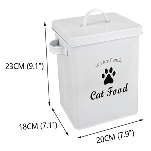 steel food canister