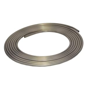 fuel line gas aluminum tubing metal polycarbonate stainless steel flexible