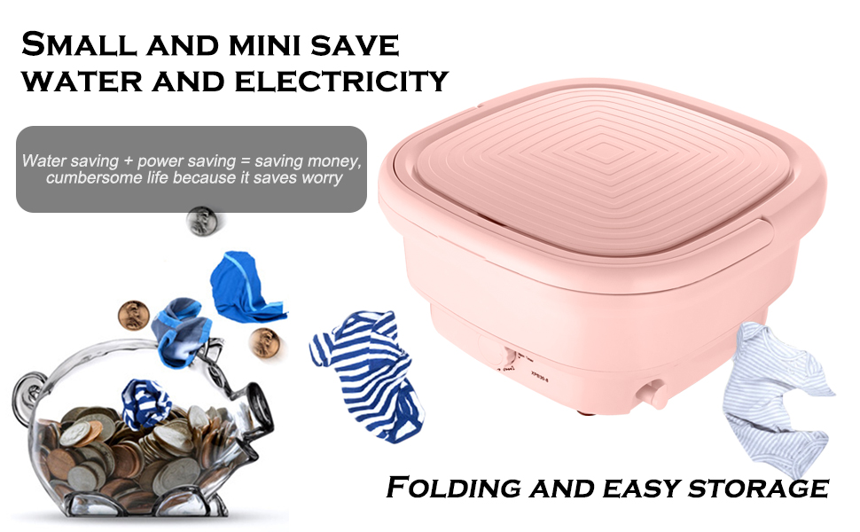 Mini Folding Clothes Washing Machine