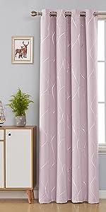 faux linen blackout curtains
