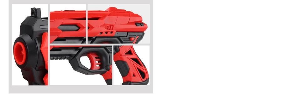 Toy Gun for kids, Bullet gun, soft bullet gun, nerf strike gun, kids pistol, gun with handcuff,