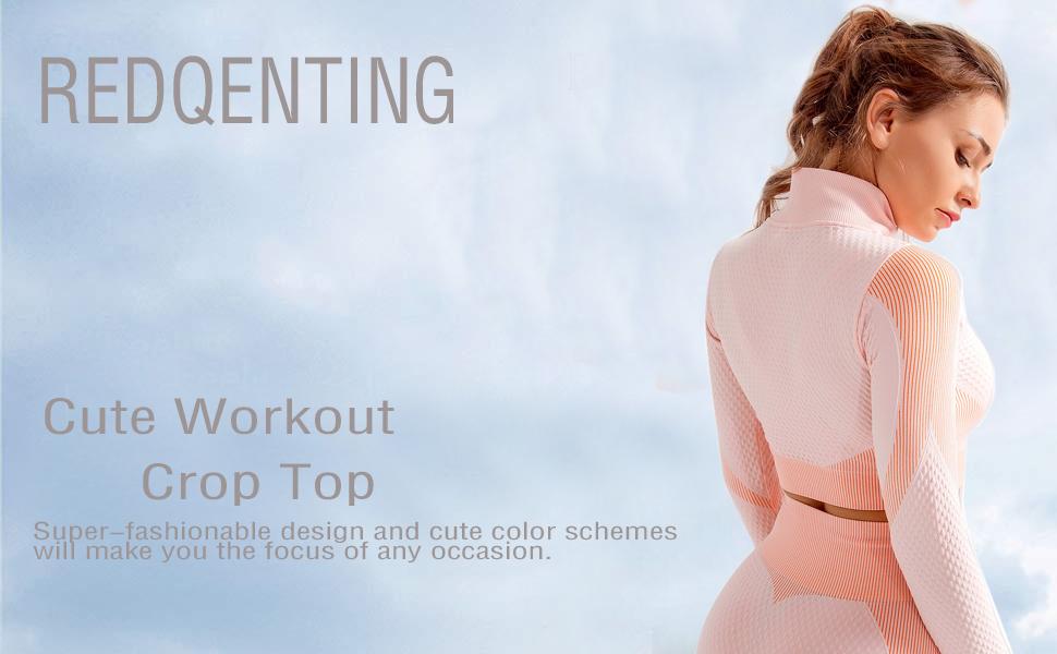 cute workout crop top