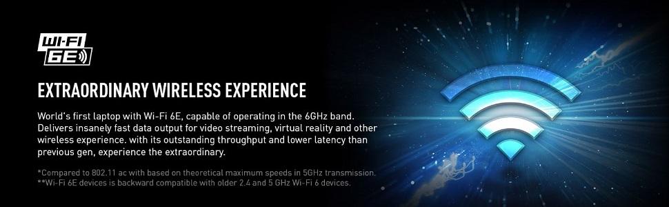 Extraordinary Wireless Experience