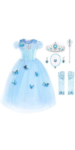 Girls Princess Party Dress